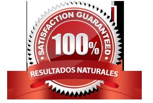 100% Garantía en los resultados naturales